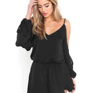 FOR RENT Black Playsuit