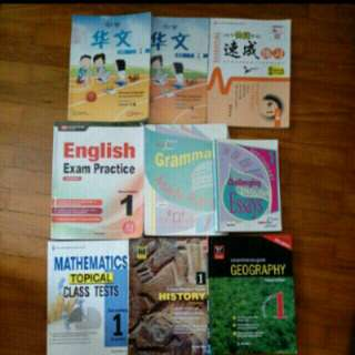 Secondary one Textbooks