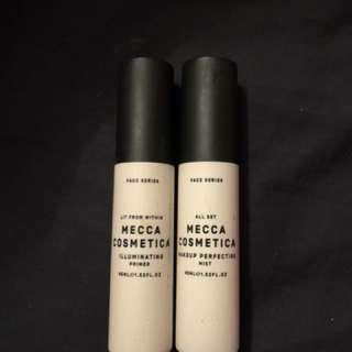 Mecca cosmetic illuminating primer and perfecting mist