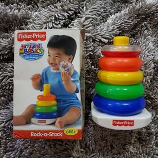 Rock a stack fisher price