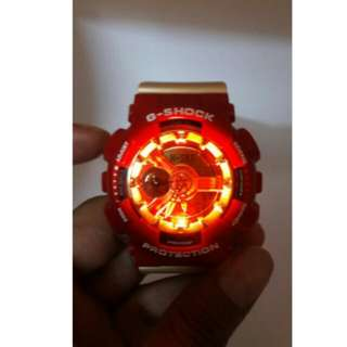 IRON MAN LIMITED EDITION G-SHOCK TOP