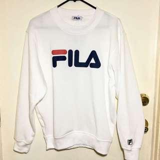 FILA Sweatshirt - White (M)