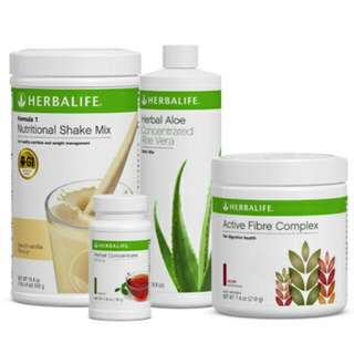 Herbalife breakfast firbe set