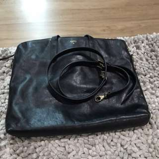 Fossil laptop bag