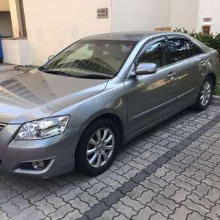 Toyota Camry for car Rental