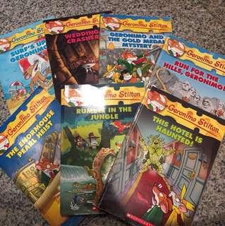 Bundle Geronimo stilton- 8 books