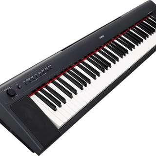 YAMAHA NP31 Keyboard 76-key Piaggero Piano - Lightweight - Perfect Condition