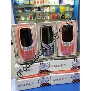 Nokia 3310 (2017) 3G 傳統按鍵手機 香港行貨 原廠保養