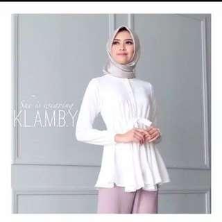 Amanda blouse by wearing klambi