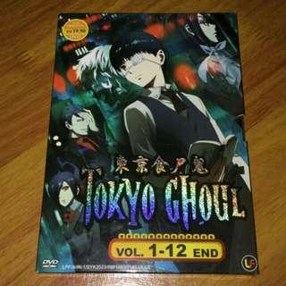 Tokyo Ghoul anime season 1 DVD