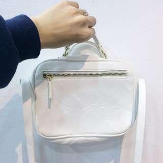 Original Zara Trafaluc sling bag (white)