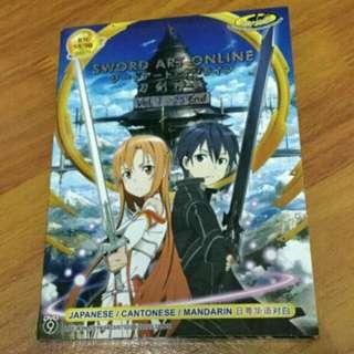 Sword Art Online Season 1 DVD