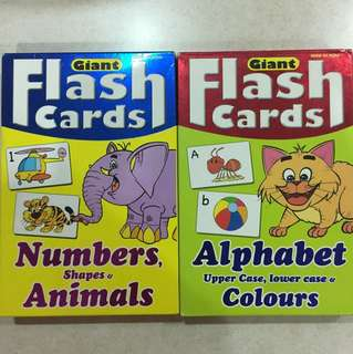 Mind to mind giant flash cards