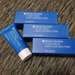 Mizon goodnight white sleeping mask-50ml