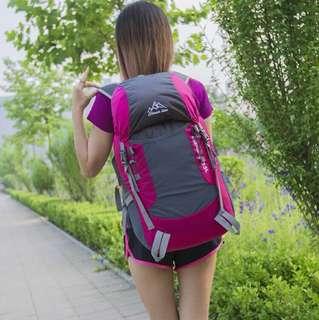 Cleverbees Waterproof Hiking Backback Bag foldable
