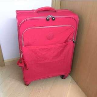 《清屋蝕讓》全新正品 Kipling Parker Medium Rolling Luggage 桃紅色 旅行喼 行李箱