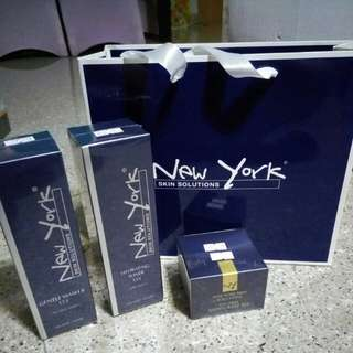 (Set) New York Gift bag authentic