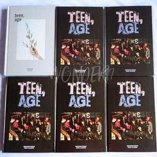 [READY STOCK] TEEN,AGE ALBUM