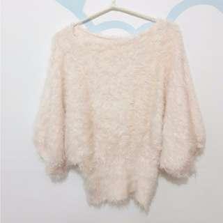 玫瑰粉色  泰迪熊感  上衣