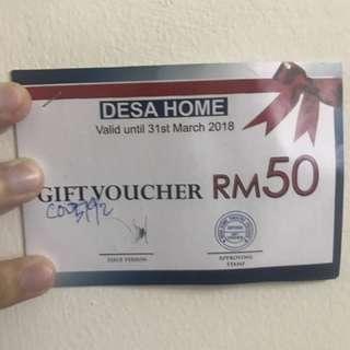 Voucer Desa Home RM300