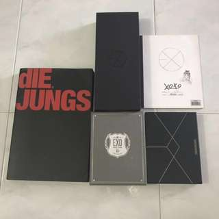[CLEARANCE] EXO COLLECTION