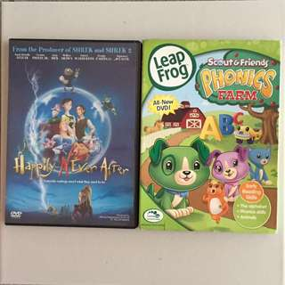 happily n ever after / leap frog phonics farm