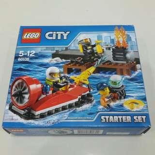 Lego City: Hovercraft fire rescue