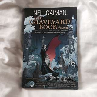 the graveyard book: volume 1 (graphic novel) 💫 by neil gaiman