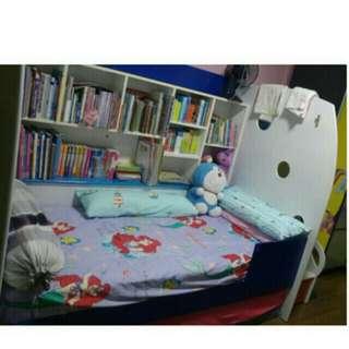 Bunk bed frame for children kid