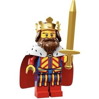 Minifig series 13 classic king