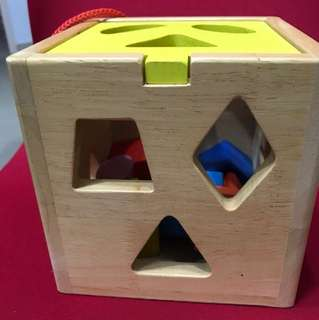 Wooden Shape toys