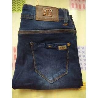 Celana Jeans Navy 19+