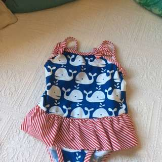 Baby Girl Swimming Suit From UK