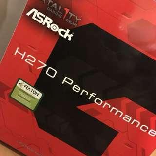 Asrock H270 Fatalty gaming motherboard intel 1151