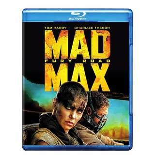 🆕 Mad Max: Fury Road Blu Ray