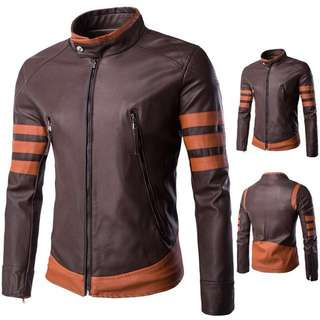 [INSTOCKS] HIGH QUALITY Wolverine Leather Jacket