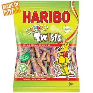 Haribo Rainbow Twists Sour