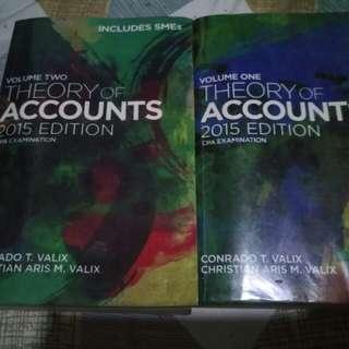 Theory of Accounts 2015 Ed Vol 1-2