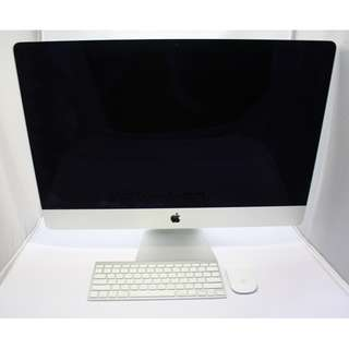 "Very Good Condition 27"" iMac 2012 model(850sgd)"