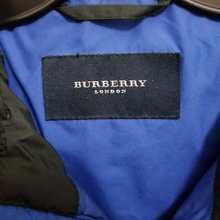 Men's large authentic Burberry Down filled jacket