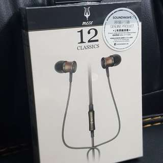 (有保養) Meze 12 Classics earphone headphone