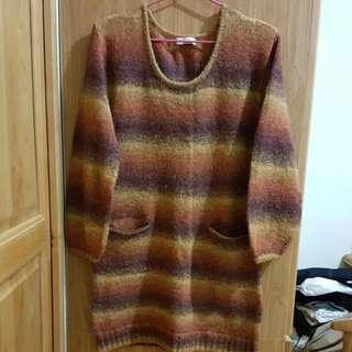 👍極新earth長版毛衣