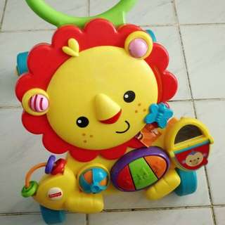 Fisher price lion (walking) toy