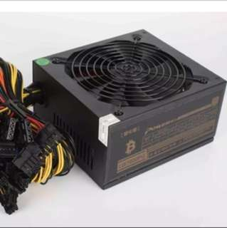 1600W Power Supply Gpu Mining Gold Rated