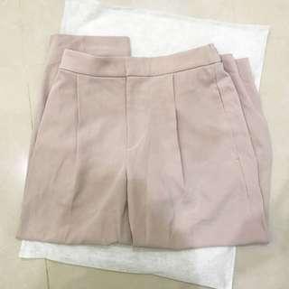 UNIQLO 8分寬褲