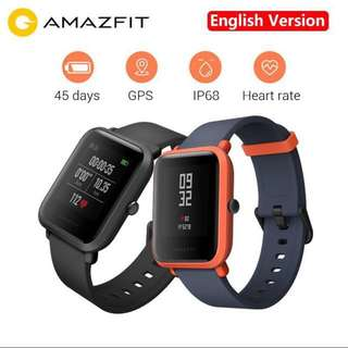 Amazfit Bip English Version - Black Colour