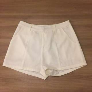 Zalora white shorts