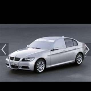 BMW 汽車用品 Car cover 寶馬專用防塵笠