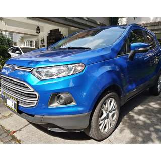 2017 Ford Ecosport Trend A/T. Bnew Condition w/ Casa Maintained Records
