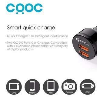 CRDC QC 3.0 Car Mobile charger